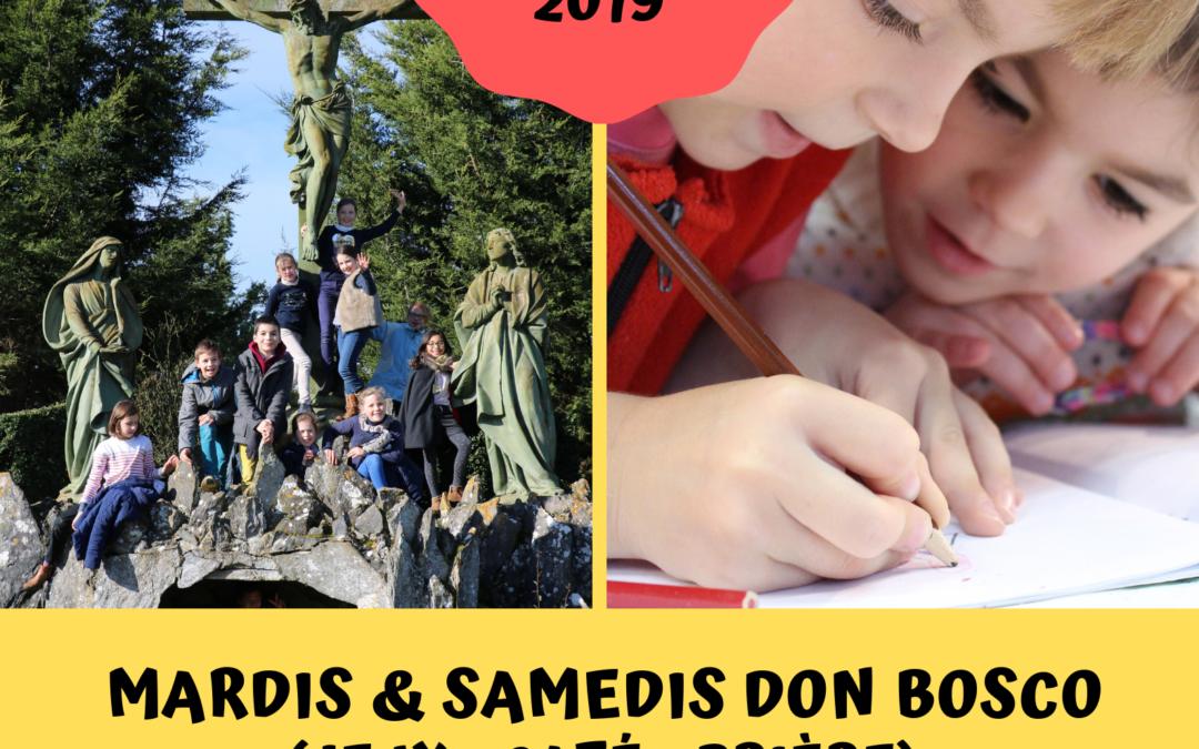 Mardis et Samedis Don Bosco (6-11 ans)